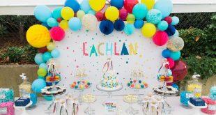indodekorasi.com foto dekorasi balon ulang tahun pertama
