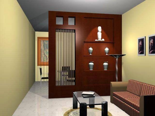 Design Sekat Ruang Tamu