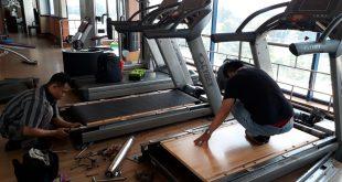 Cara Membersihkan Karpet Treadmill Elektrik